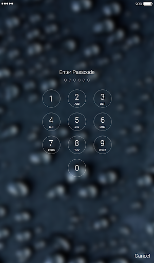 Download Water Drops 4k Lock Screen Wallpaper Apk Full