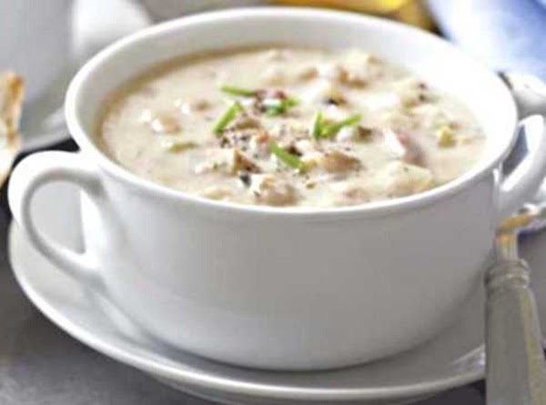 Creamy Clam Chowder Soup Recipe