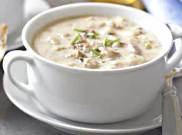 Creamy Clam Chowder Soup Recipe