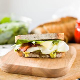 Egg White Bacon Breakfast Sandwich