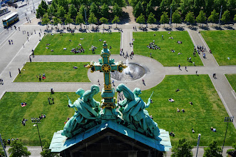Photo: View from the Berliner Dom