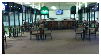 Photo: This is the Sports Lounge where you can watch all the live matches!