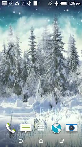 Winter Video Live Wallpaper