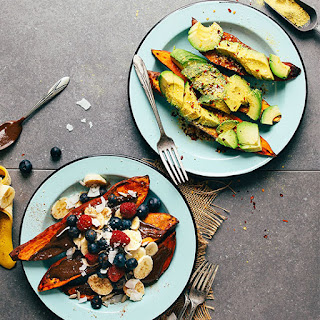 Baked Sweet Potatoes 2 Ways!.