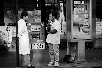 Photo: pick your poison, cigarettes or alcohol. they have it all in Chinatown! I went out shooting yesterday with my friend +Simon Garnier and his friend +Kurt Rogers from Florida. It was great fun! #streetphotography