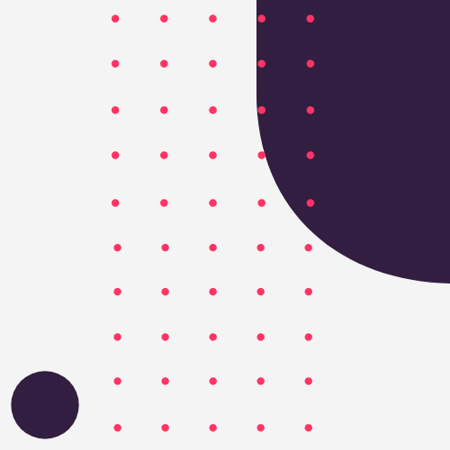 pink dots with purple