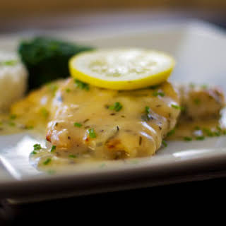 Chicken in a Lemon Butter Sauce.