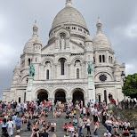 Sacre-Ceour in Paris, Paris - Ile-de-France, France