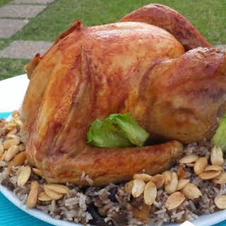 Roasted Turkey with a Lebanese Twist.