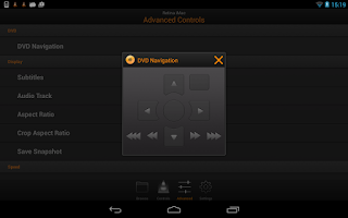 Screenshot of VLC Remote Free