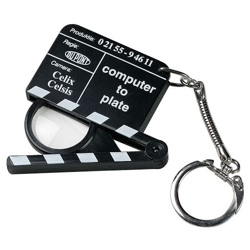 Keyring Mini Clapper Boards