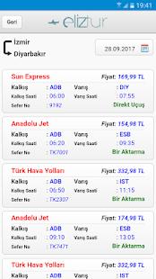 Eliztur Uçak Otobüs Bilet - náhled