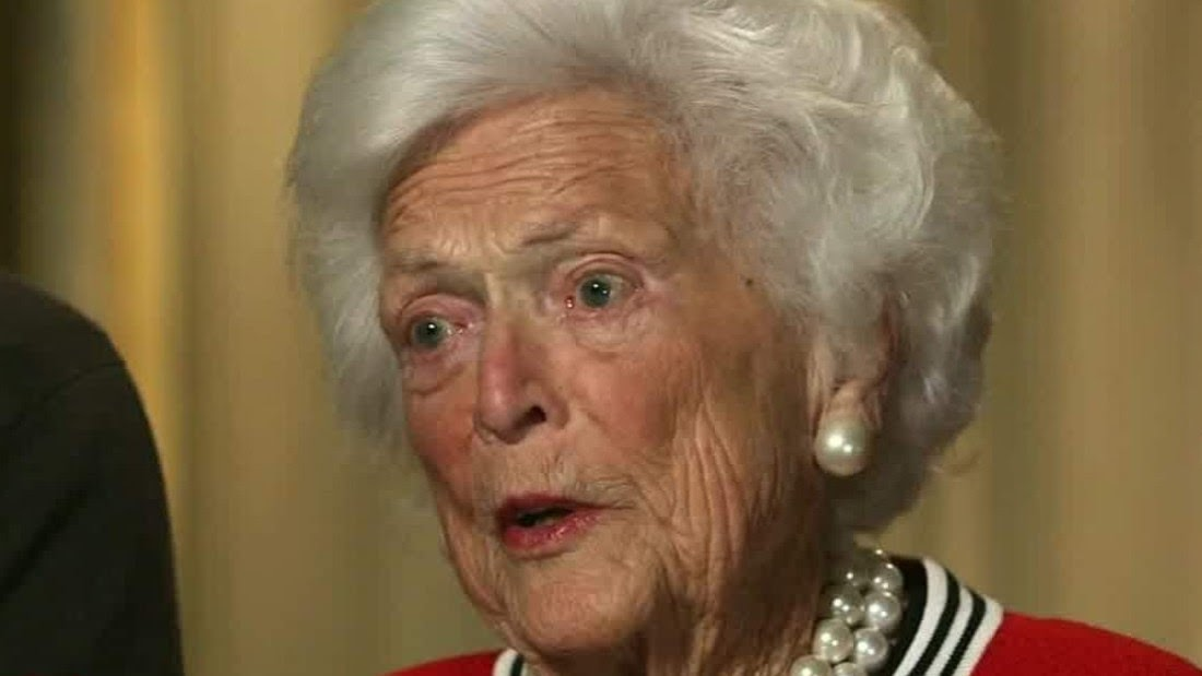 Former first lady Barbara Bush passes into history