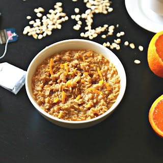 Quick Early Grey Orange Oatmeal