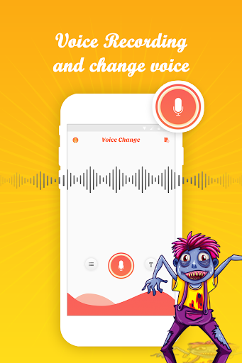 Voice editor - voice recorder & sound effects. 1.0 screenshots 1