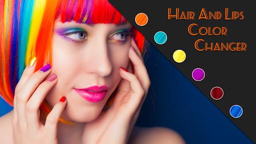 Hair Lip Eyes Color Changer