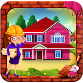 Girls Pink House Construction: Builder Simulator