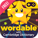 Learn English vocabulary free: Wordable icon