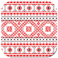 Ukrainian pattern icon