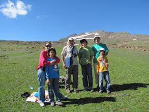 Photo: Armenien, am Kari - Lich - See,  Ausgangspunkt zum Aragaz, Treffen mit einer Familie