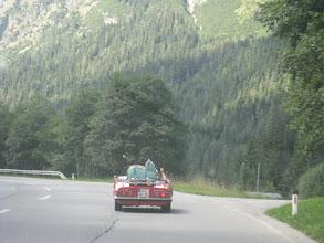 "Photo: Cabrio mit ""Kindersitz"""