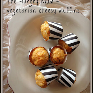 Easy Lunchbox Idea – Vegetarian Cheesy Muffins