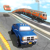 Train Vs Car Racing 2 Player