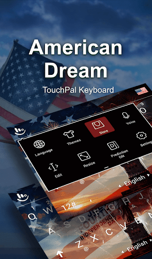 免費下載個人化APP|American Dream Keyboard Theme app開箱文|APP開箱王