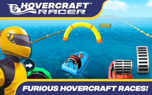 Hovercraft Racer 10.0 screenshots 4