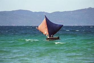 Photo: Fishing boat sailing home