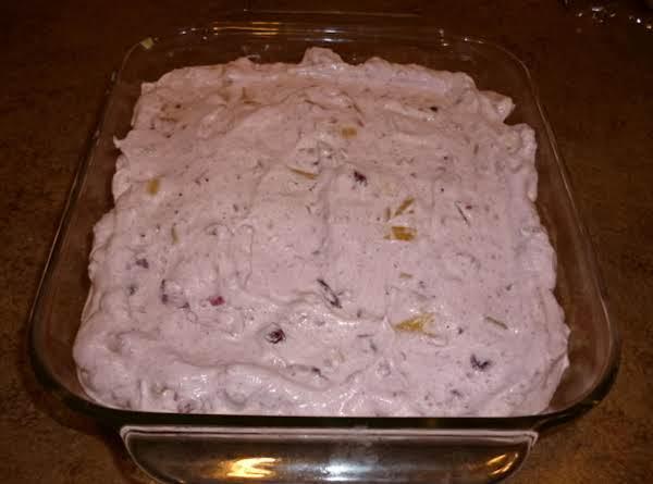 Frozen Cranberry Salad Recipe