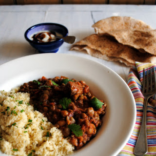 Moroccan Lamb, Chickpea and Lentil Harira
