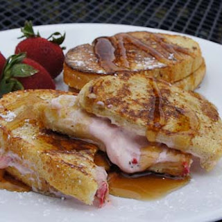 Strawberry Cream Cheese French Toast |