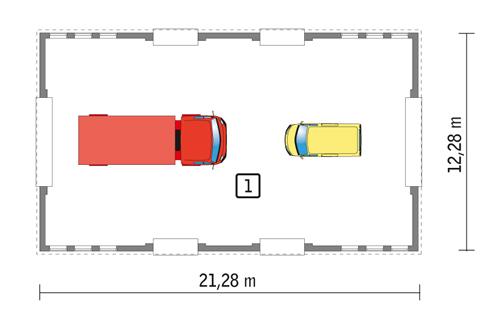 GMC16S - Rzut parteru