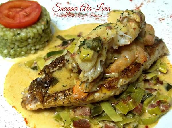 Snapper Ala-licia Recipe