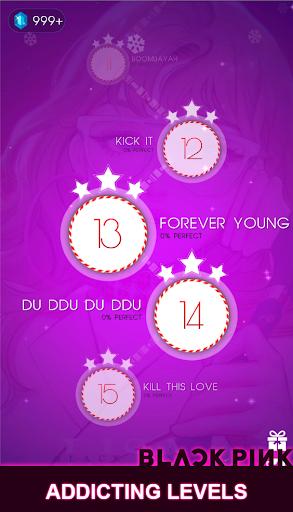 BLACKPINK Dancing Balls:KPOP Music Dance Line Game  screenshots 1