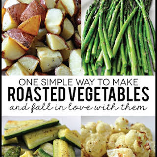 Easy Roasted Vegetables.