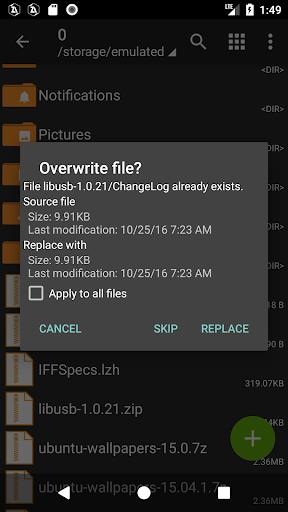 ZArchiver 0.9.1 screenshots 5