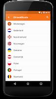 Screenshot of Oranje