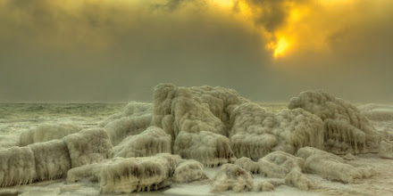Photo: Frozen Black Sea (Thanks +Louie Baur ) for pointing me in this direction