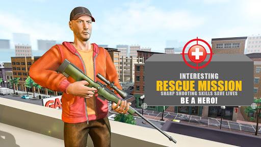 Sharp Sniper Shooter - Rescue Mission apktram screenshots 1