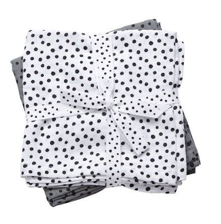 Done By Deer Spytrasa, Happy Dots, Grey 2-pack