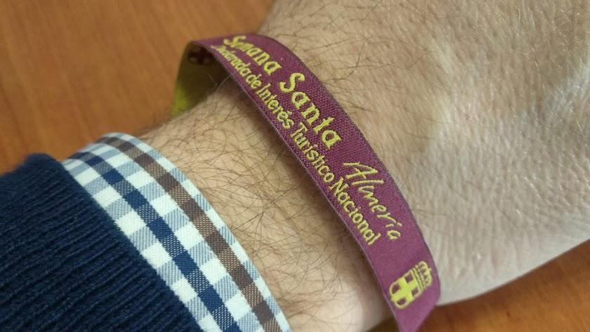 Esta es la pulsera que se dará a partir del 10 de abril