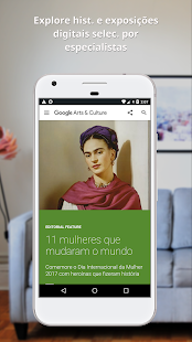 Google Arts & Culture: miniatura da captura de tela