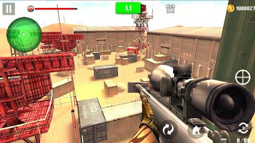Sniper de tir de montagne  captures d'écran 1