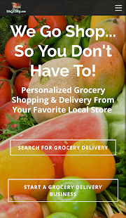 WeGoShop Grocery Delivery- screenshot thumbnail