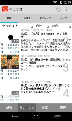 にこすぱ ニコニコ動画/ニコニコ生放送 プレイヤー 人柱版