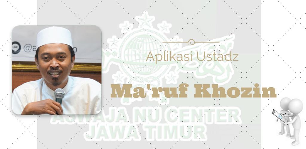 Download Ustadz Ma'ruf Khozin APK latest version app for