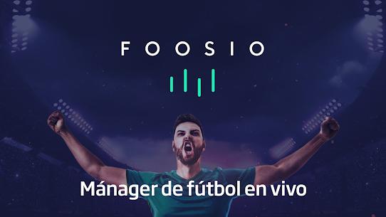 FOOSIO – Mánager de fútbol en vivo 1