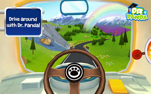 Dr. Panda Bus Driver - Free 1.8 screenshots 1